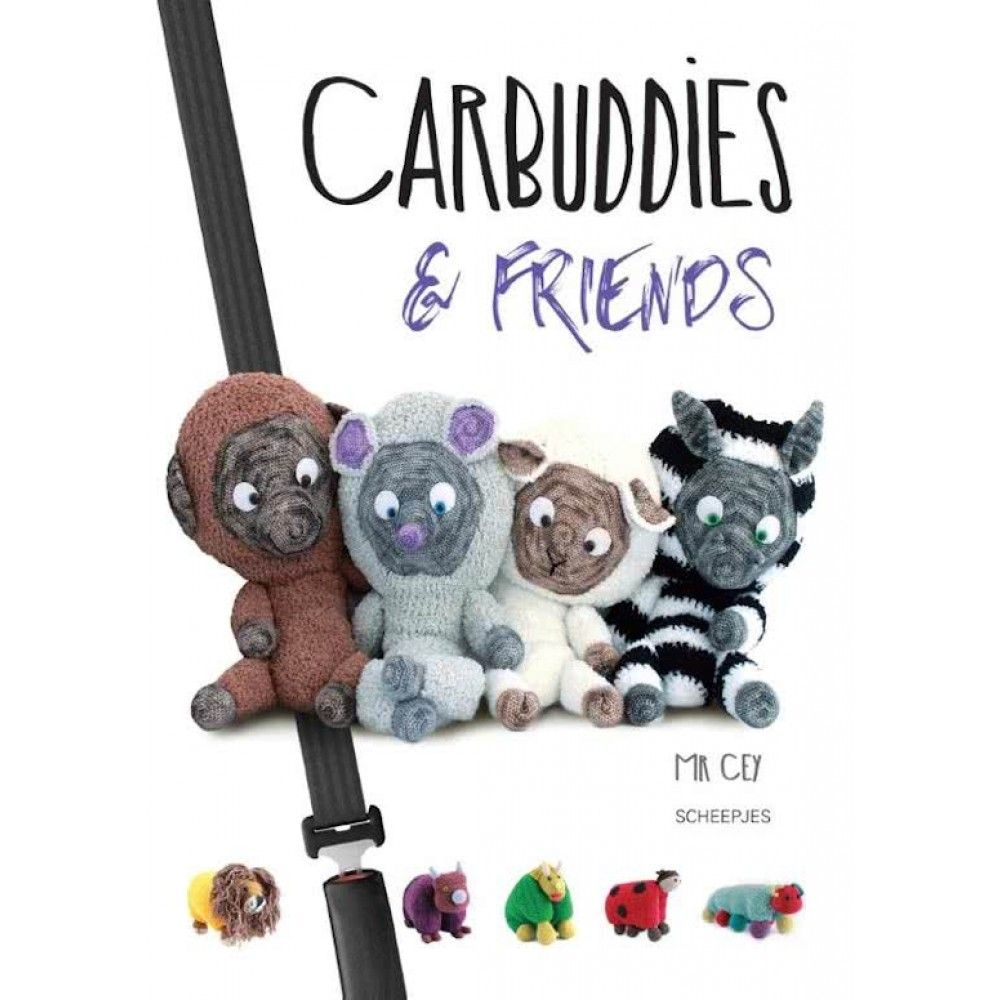 Carbuddies Friends Mr Cey Amigurumi Haken Breiwebshopnl
