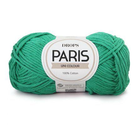 DROPS Paris Uni Colour - 11 opaalgroen - Katoen Garen