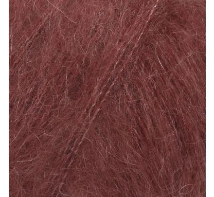 DROPS Kid-Silk 36 bordeaux (uni colour) - Mohair Garen