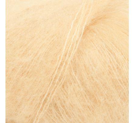 DROPS Kid-Silk 29 vanille - Mohair Garen