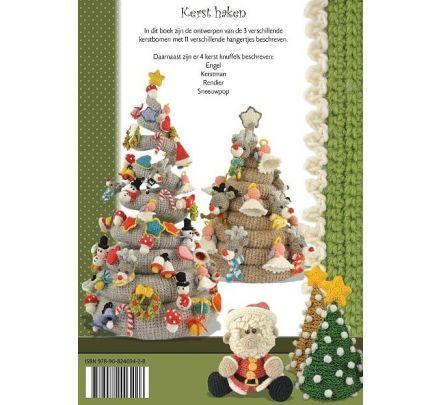 Kerst Haken Anja Toonen Haakboek Breiwebshopnl