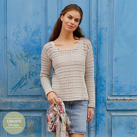 patroon gehaakte trui voor dames met kantpatroon - haken