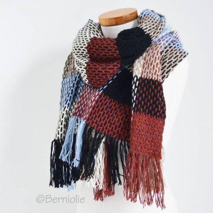 CAL Sjaal/Omslagdoek van Berniolie, met Drops Alpaca - Dutch Crochet Talent
