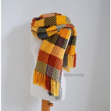 CAL Sjaal/Omslagdoek van Berniolie, met Scheepjes Colour Crafter - Dutch Crochet Talent
